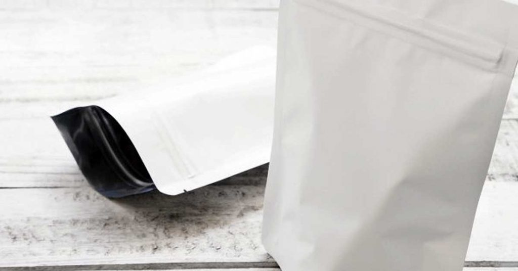Bolsas aluminio para café que se mantienen de pie