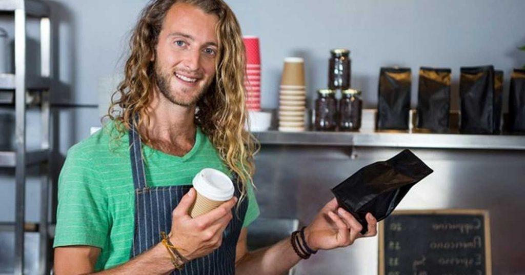 Fuelle lateral: La bolsa para café más popular