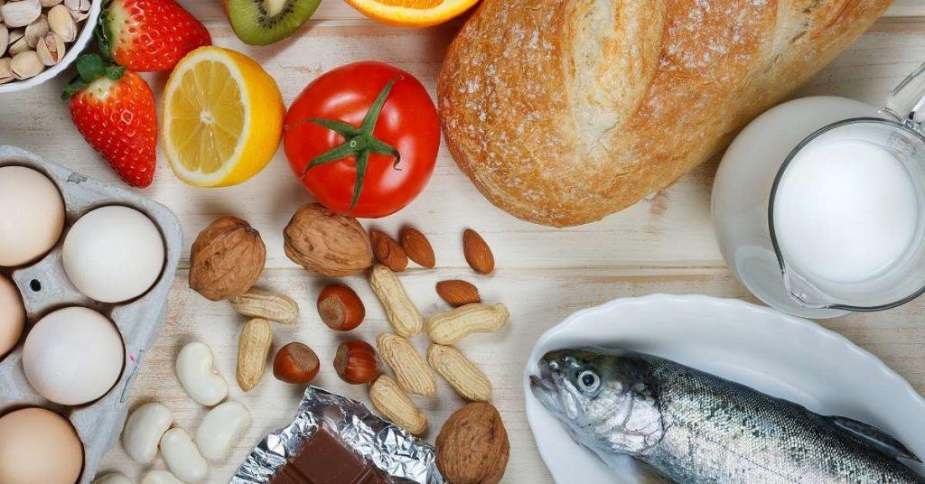 Listado de los 14 alérgenos alimentarios existentes