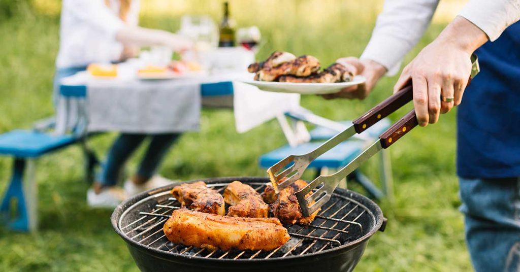 Responsabilidad con el fuego al cocinar en espacios naturales