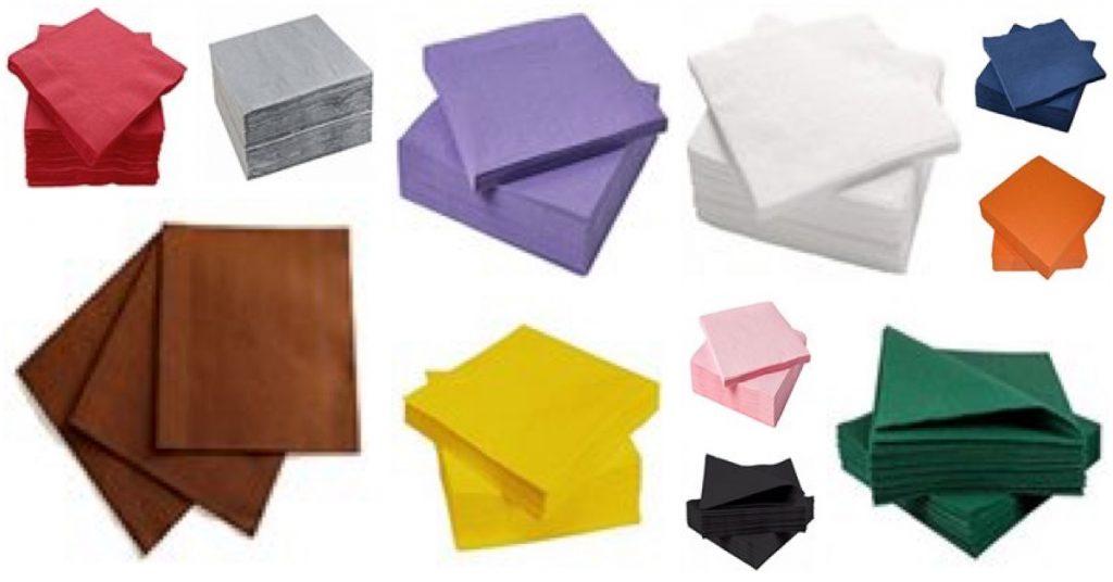 Servilletas de papel para tus manualidades