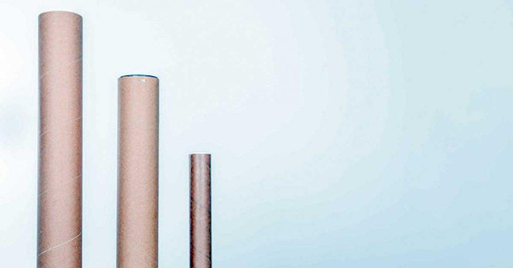 Características básicas de los tubos de cartón embalaje