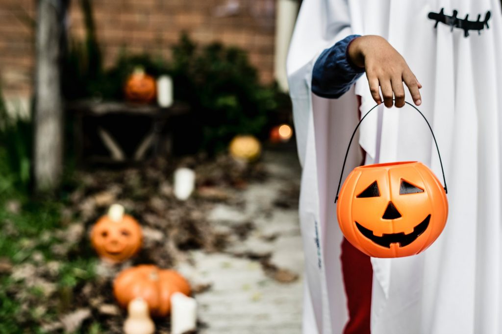 cestas dulces halloween