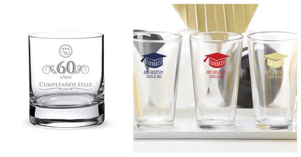 cuándo y cómo usar vasos personalizados