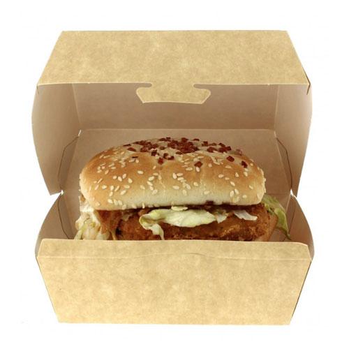 Caja para hamburguesas