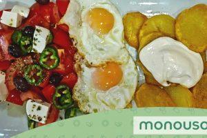 Menu simple et rapide:  des plats combinés