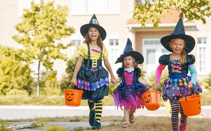 Fiesta Halloween para niños