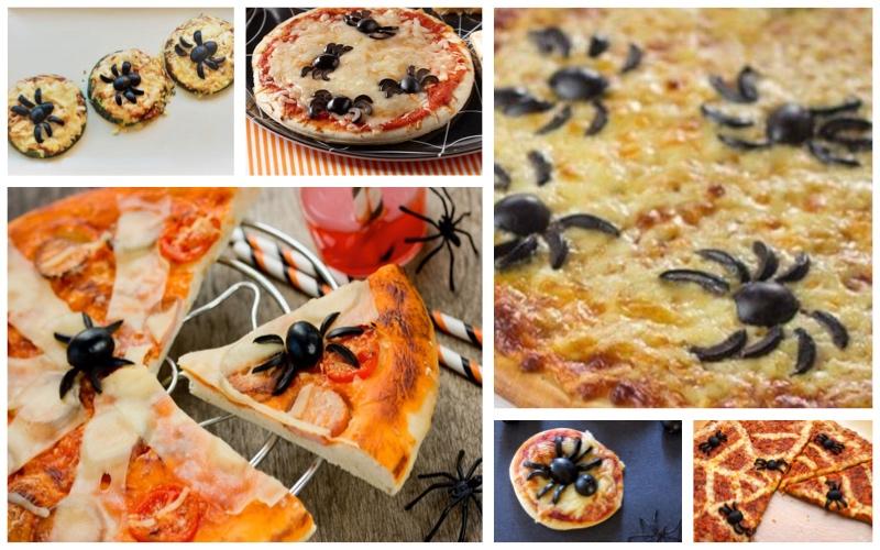 Pizza arácnida