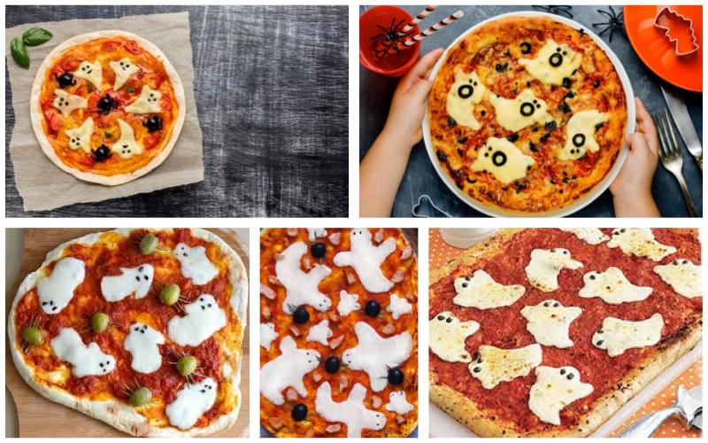 Pizzas fantasmales