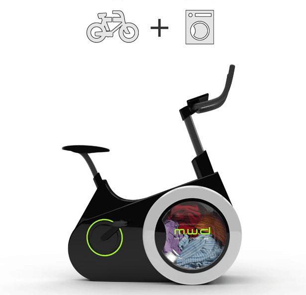 Bicicleta con lavado