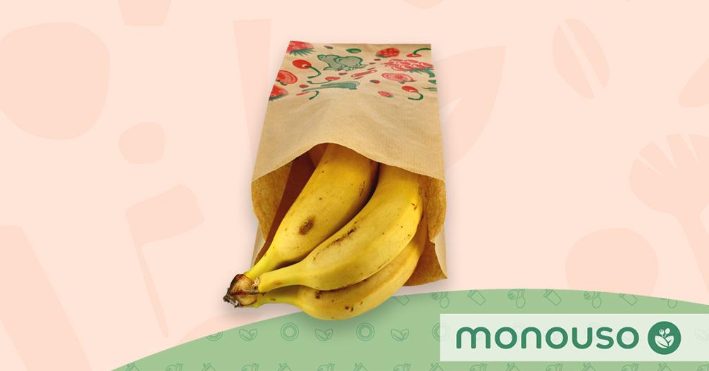 Bolsa de papel para fruta