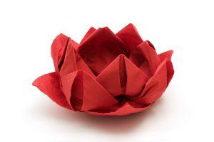 Serviettes en papier : conseils pour un pliage serviette original